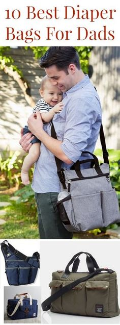 Best Diaper Bags For Dads. Look stylish as a dad with some of these diaper bags.