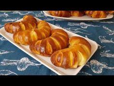 Cornuri cu nutela pentru scoala framantate cu iaurt - YouTube Romanian Food, Pastry And Bakery, Doughnuts, Biscotti, The Creator, Picnic, Desserts, Recipes, Bread