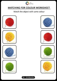 Color Worksheets For Preschool, Preschool Colors, Kindergarten Math Worksheets, Printable Activities For Kids, Preschool Learning Activities, Free Preschool, Color Activities, Preschool Weather, Daycare Curriculum