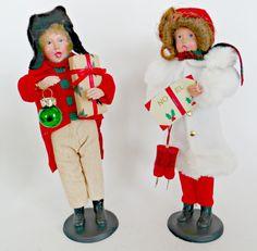Christmas Carolers,figurines,Carolers,vintage by FabulousFunFashion on Etsy