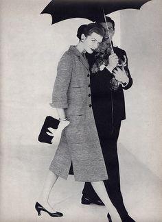 Anne St. Marie  Vogue 1955
