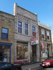Red Rooster Cafe in Mineral Point, Wisconsin.  Great Cornish Pasties! - one of my favorite places to get a pasty