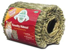 The Timothy Hideout is the ideal size for smaller pets such as hamsters and gerbils to hide, burrow and nest in. | Oxbow Animal Health