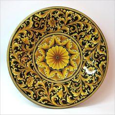 Piatto - Ceramiche Artistiche di Caltagirone - La Ceramica di Caltagirone