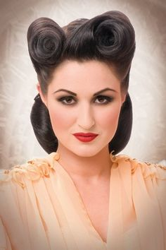 This has got to be the perfect rockabilly look.