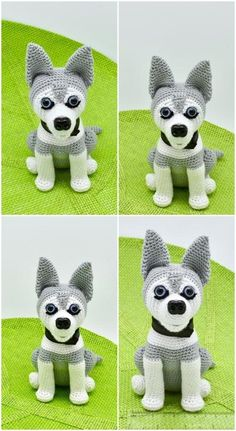 Free amigurumi dog crochet patterns are waiting for you in this article. You can find the most recent amigurumi recipes on our website. Dog Crochet, Crochet Amigurumi Free Patterns, Crochet Animal Patterns, Easter Crochet, Stuffed Animal Patterns, Cute Crochet, Crochet Animals, Crochet Toys, Knitting Patterns