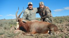 Me & Mike Miller worked really hard to get this Blesbuck.