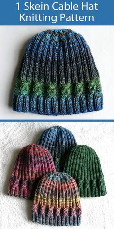 Knitting Patterns, Loom Knitting, Free Knitting, Knitting Projects, Crochet Projects, Crochet Patterns, Knit Crochet, Crochet Hats, Knitted Hats