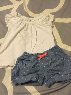 Girls Gymboree Shorts And Jumping Beans Top Sz 3t Super Cute 2pc Shorts Set