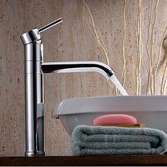 Chrome Finish Revolvable Bathroom Sink Faucet – USD $ 118.74