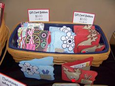 Gift Card Holders by kaitysmom - Cards and Paper Crafts at Splitcoaststampers