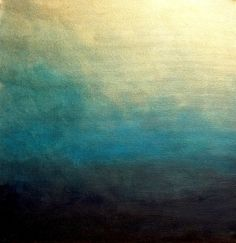 """Saatchi Online Artist Liz Mcdonough; Painting, """"Ethereal Turquoise Small"""" #art"""