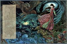 """Laurel Long, """"The Lady and the Lion"""" This entire book is gorgeously illustrated."""