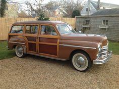 '49 Plymouth Woody Wagon