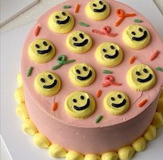 Pretty Birthday Cakes, Pretty Cakes, Mini Cakes, Cupcake Cakes, Masterchef, Cute Desserts, Just Cakes, Love Cake, Sweet Cakes