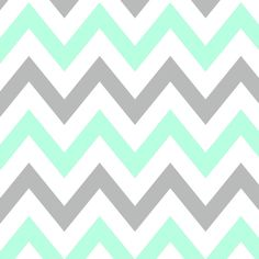 PERFECT color combo for chevron prints! Mint & Gray! See at www.savedbythedress.com #fashion #pinterestshop #colorcombo