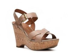 Franco Sarto Farley Wedge Sandal Women's Wedge Sandals Sandals Women's Shoes - DSW