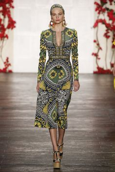 Naeem Khan Spring 2016 Ready-to-Wear Collectiion