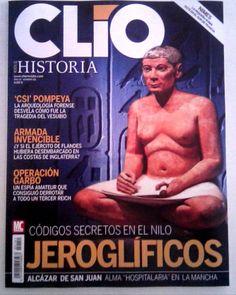 "Revista #ClioHistoria - ""JEROGLÍFICOS - Códigos secretos del Nilo"" - #historia #villaobispo #villaquilambre"