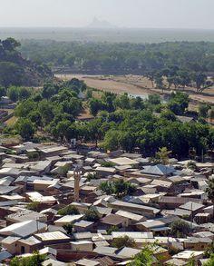 Maroua, northern Cameroon (Massive de Mindif in the background).  Photo: ToSStudio via Flickr
