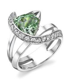 Vision Seafoam Tourmaline Ring - Mark Schneider Design