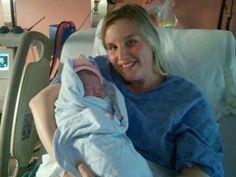 Birth photos: The moment I became a mom