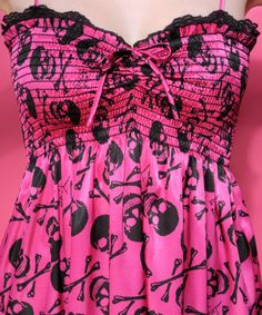 Betsey Johnson SKULLS DRESS - Amazing Fabric