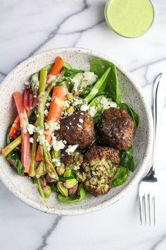 Spring Falafel Salad