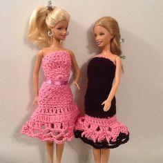 Vestidos croche Barbie