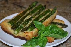 The Vegan Version: Asparagus and Cannelini Bean Pesto Tart