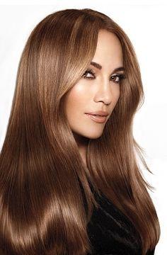 Medium Golden Brown Hair Color