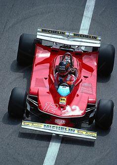 Canadian Gilles Villeneuve, Ferrari 312T4