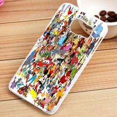 Disney Characters Collage Samsung Galaxy S3, S4, S5, S6, S6 Edge, S7 Case - gogolfnw