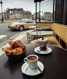 Croissant # coffee