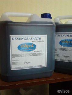 Desengrasante concentrado - bidón 5 lts $5.950  VENDO DESENGRASANTE CONCENTRADO PARA TODO TI ..  http://santiago-city-2.evisos.cl/desengrasante-concentrado-bidon-5-lts-5-950-id-612496