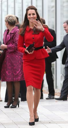 Kate Middleton - The Duke And Duchess Of Cambridge Tour Australia And New Zealand - Day 8