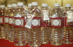 """Hangover Helper"" or ""Survival Kit"" wedding favor for our guests. It was a HUGE hit!  You need water to hydrate, a mint to make sure your breath smells good for your significant other, and of course some ibuprofen to avoid that dreaded morning headache.  All this will help avoid that hangover in the morning...what guest wouldn't appreciate that?"