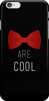 I wear a bow tie now. Bow ties are cool. by fangirlshirts 11th Doctor, Doctor Who, Rose Tyler, Matt Smith, Dr Who, Tardis, Fangirl, Fandoms, Bows