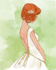 Saiba qual é o penteado ideal para seis tipos de decotes de vestidos de noiva