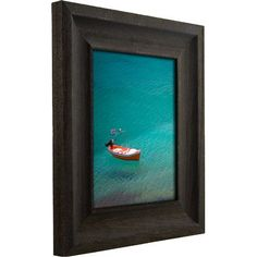 "Craig Frames Inc. 2.5"" Wide Distressed Wood Picture Frame / Poster Frame Size: 16"" x 22"""
