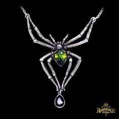 Collier 'Emerald Venom'
