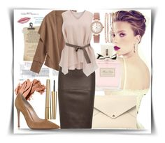 """""""Bez naslova #30"""" by mirka2011 ❤ liked on Polyvore featuring Louis Vuitton, Christian Dior, By Malene Birger, Estée Lauder, Brunello Cucinelli, Bobbi Brown Cosmetics, Gianvito Rossi and INC International Concepts"""