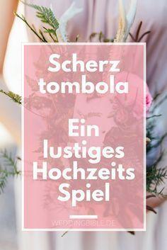 Lustiges Hochzeitsspiel - eine Scherztombola auf der Hochzeit. Wenn ihr noch etwas Lustiges für die Hochzeit sucht oder ein Spiel beim Heiraten, dann ist die Scherztombola sicher ein Spaß für eure Hochzeitsgäste