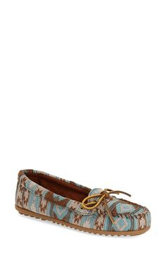 Minnetonka 'Baja' Moccasin (Women) available at #Nordstrom