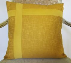 18 Imported Italian Cotton Damask Pillow Cover  by EvaHomeGoods, $18.00