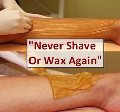 "Fit Bottomed Lady: ""Never Shave Or Wax Again"""