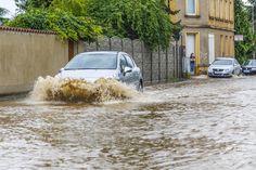 #Überschwemmungen am Nachmittag in #Markkleeberg #gewitter #unwetter