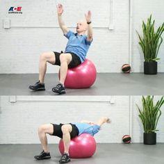 Circular Arm Crunch