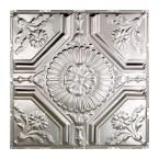 Great Lakes Tin Rochester 2 ft. x 2 ft. Nail-up Tin Ceiling Tile in Unfinished T58-03 at The Home Depot - Mobile
