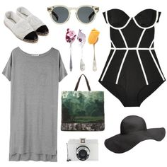 """""""Black and White"""" by chloewinstanley on Polyvore"""